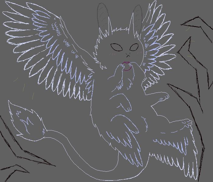 Bunny Creature Sketch