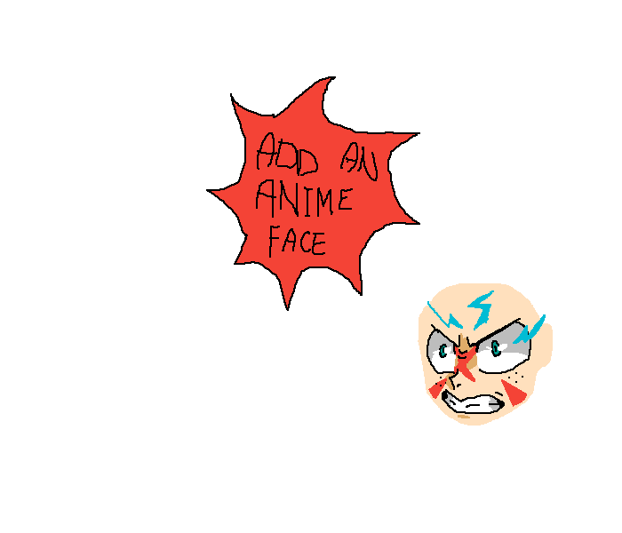 Add Your Own Anime Face!