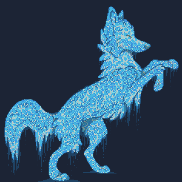 Elemental Wolf of Water