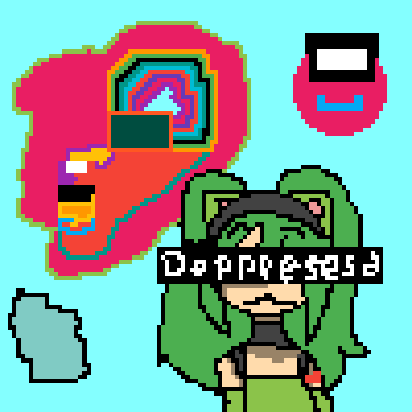 my art and my friend artwork