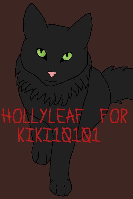 Hollyleaf for Kiki10101
