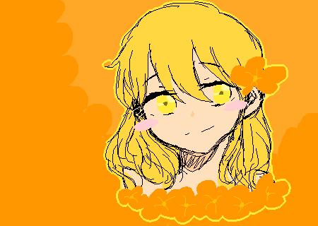 Orange and Yellow.