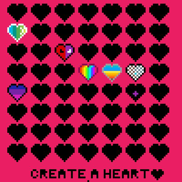 Color a heart