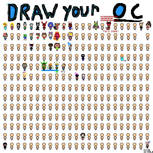 Draw your oc