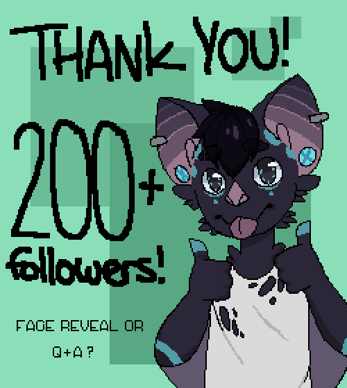 Thank you for 200+ followers!!