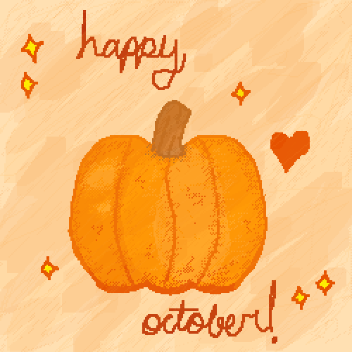 happy october- for contest
