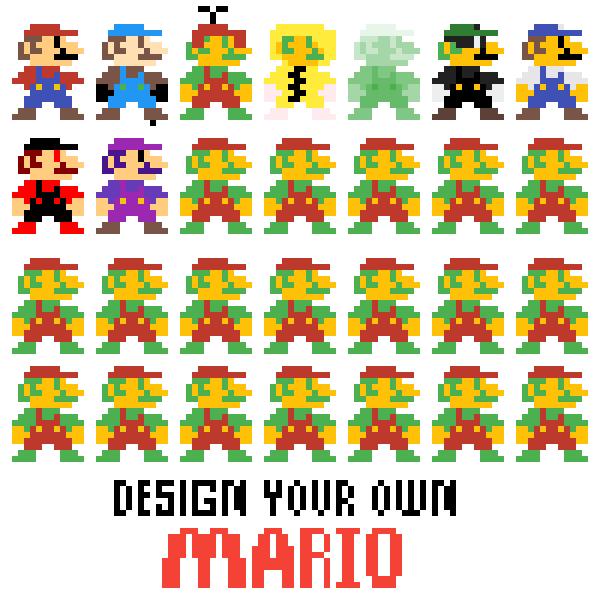 Purple Mario!