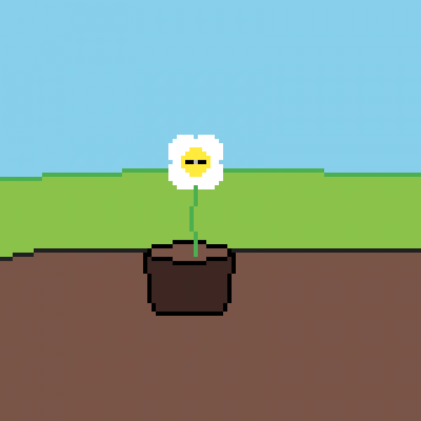 the one-eyed flower (100x100)