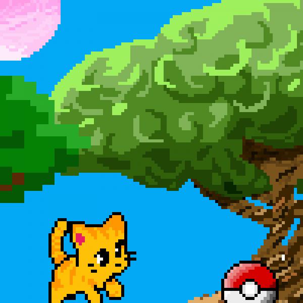 kitten + pokemon
