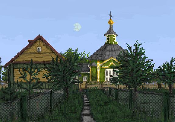 Village evening