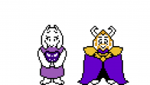 Toriel and Asgore Dreemurr