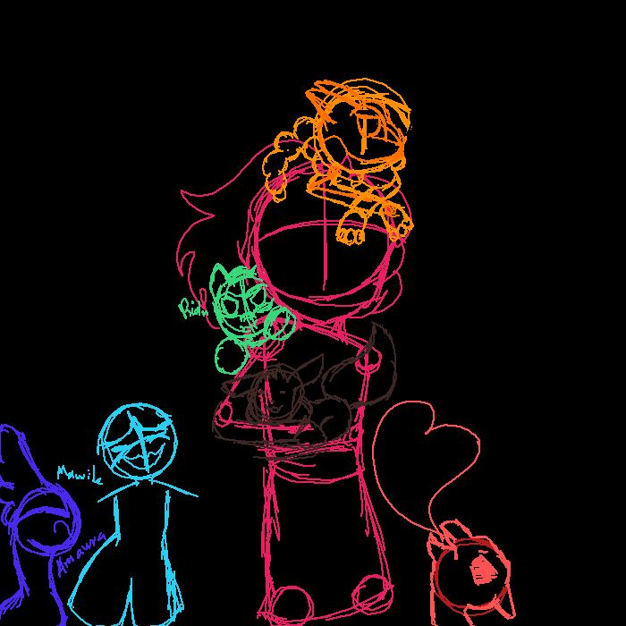 Pokemon X Team. WIP