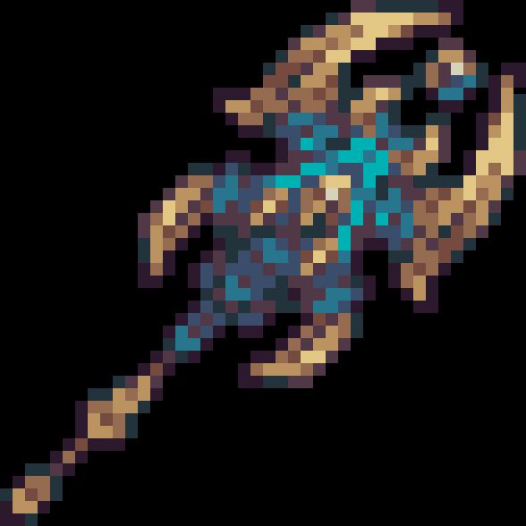 Pixilart - Terraria(Calamity Mod) - Frigidflash Bolt by