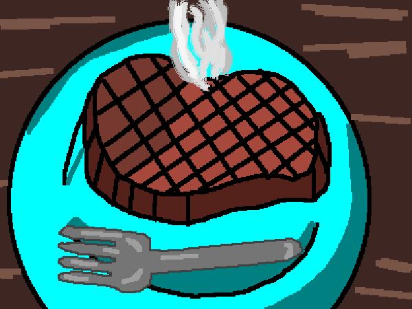 Steak! yummers!
