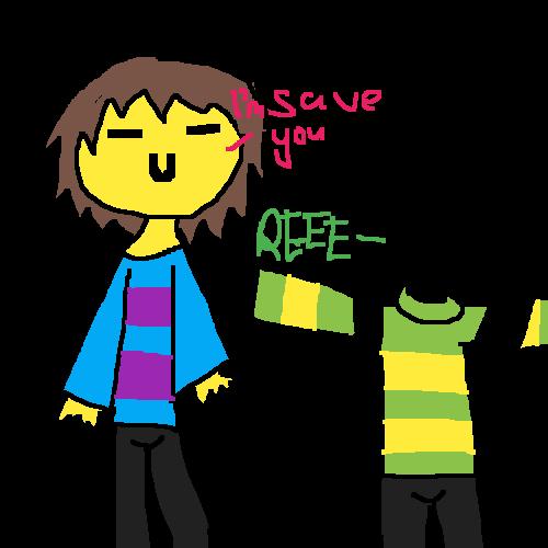 Asriel gets saved