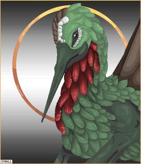 ~ Hummingbird Dragon ~