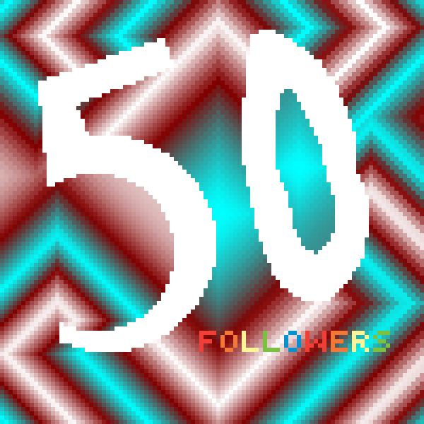 50 FOLLOWERS