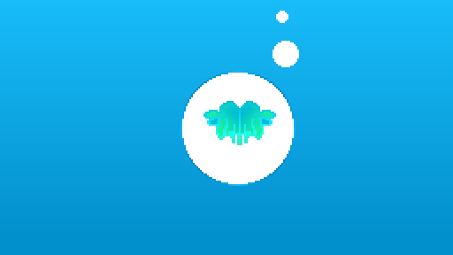 Seafoam Water Bubble Wings