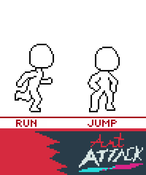Art Attack Base Layout-- Running and jumping