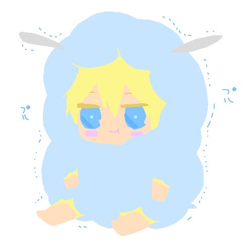 Kawaii Little lamb