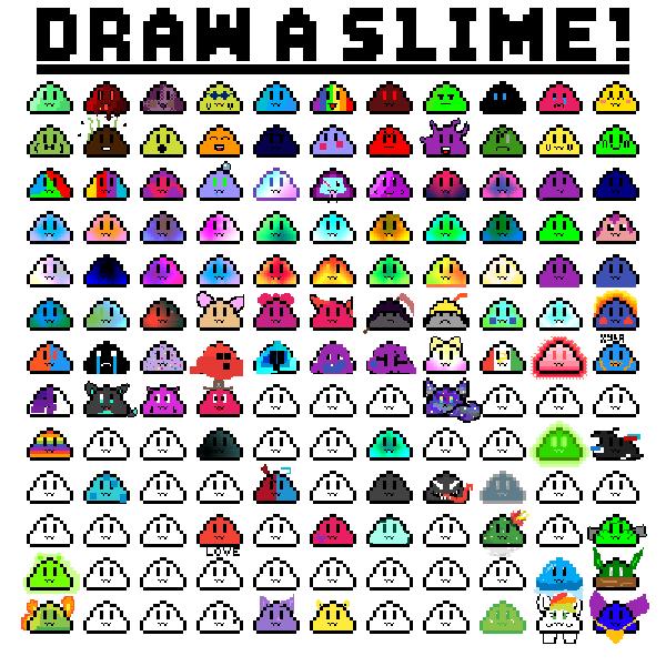 I added onto slimes D