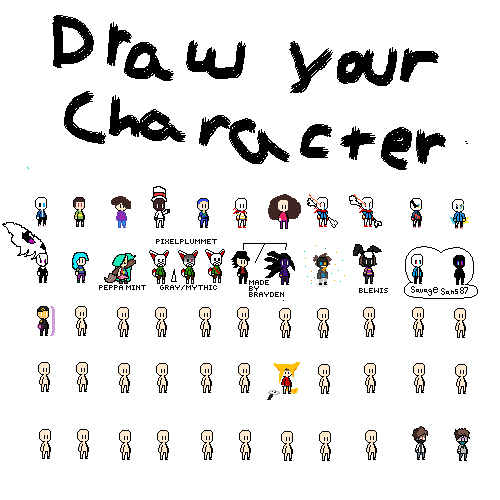 Draw your character