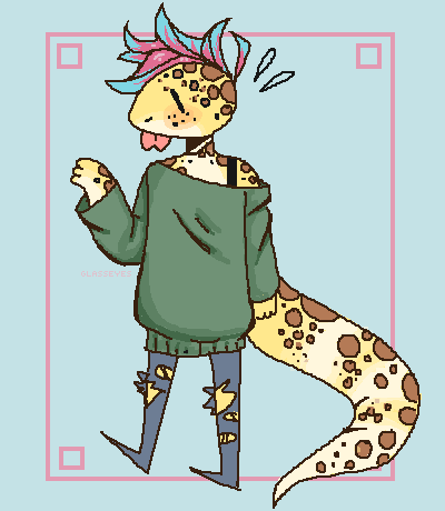leopard gecko girl