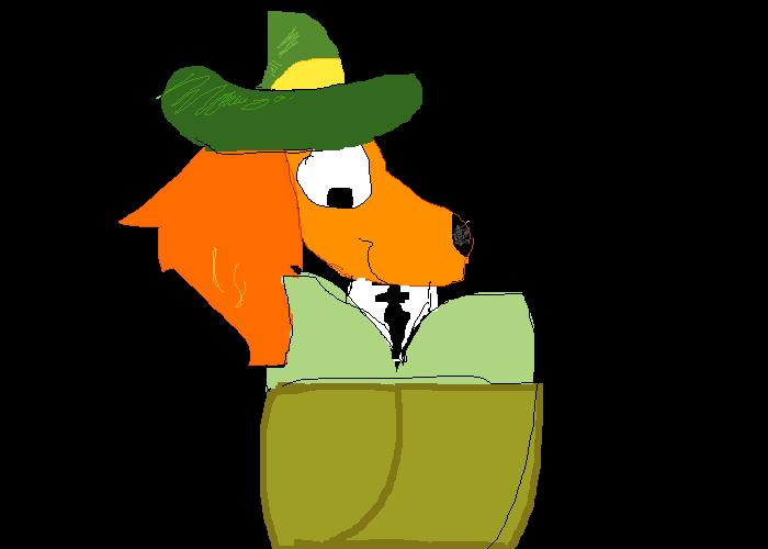 uwu i drew de dog from mary poppins returns