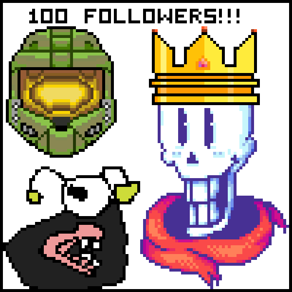 OMG! 100 followers
