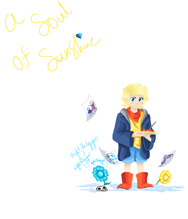 A Soul Of Sunshine.