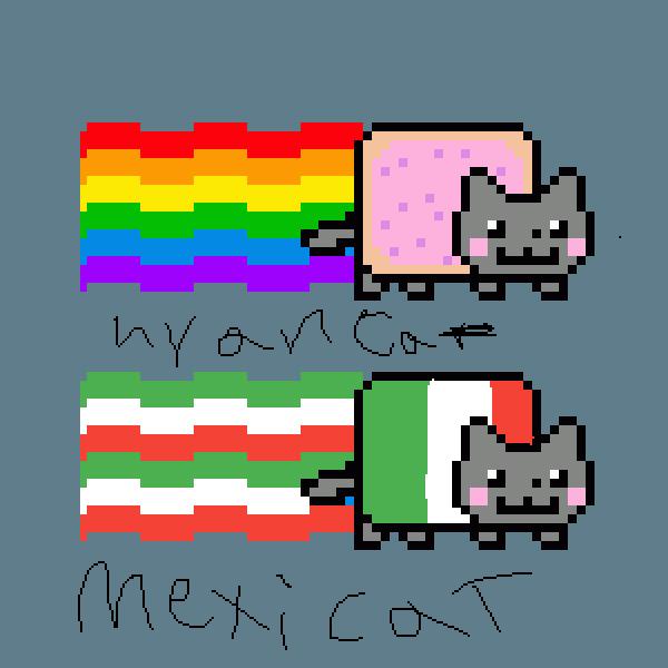 Mexicat vs nyancat
