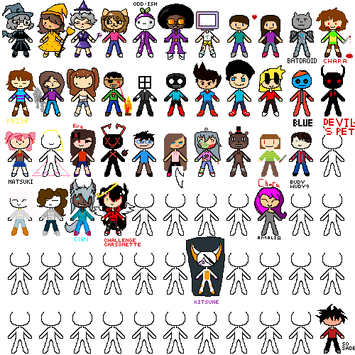 If you see this draw your Oc on one of them