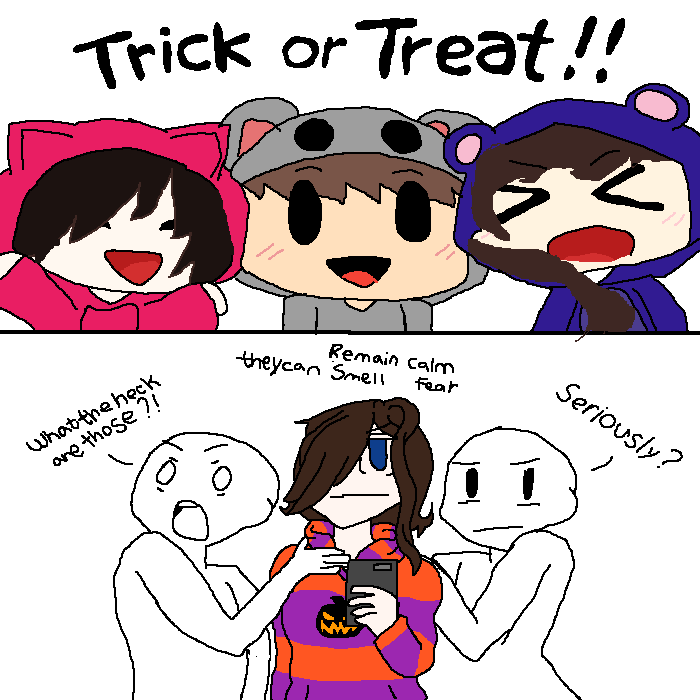 Trick or treat!!!!!!!!!!!