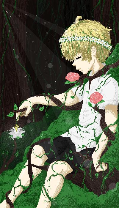 睡觉的森林