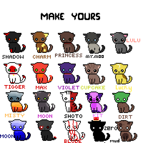 Make Your Cat (Finished)