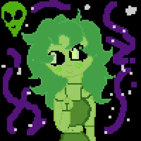 Alien Girl *name Aliena*