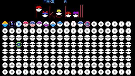 create a pokeball
