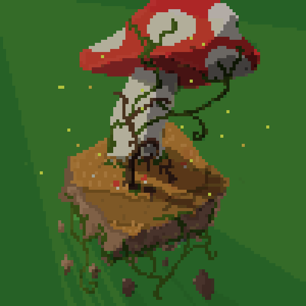 100 x 100 Mushroom Land