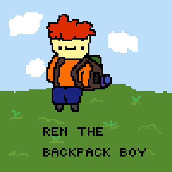 Ren The Backpack Boy