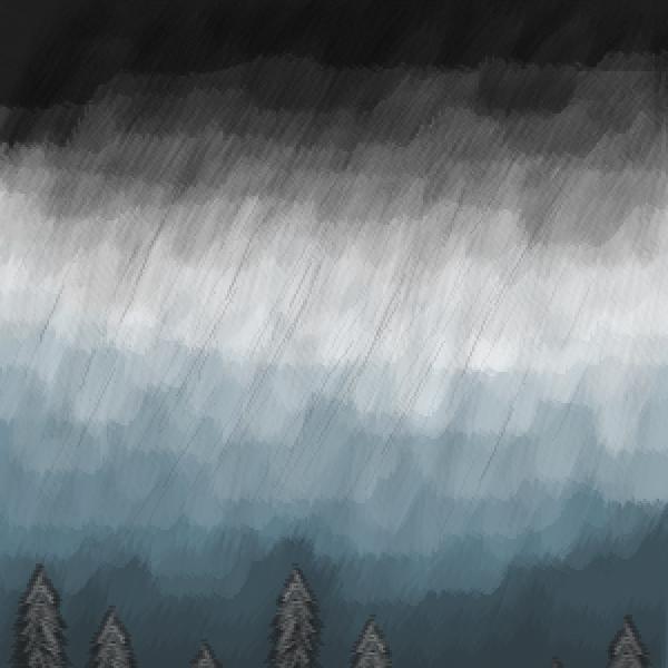the storm arrive...