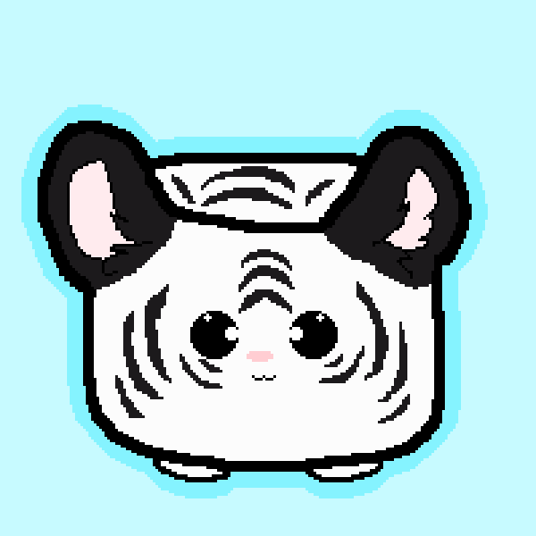 Withe Tiger Marshmallow Pet