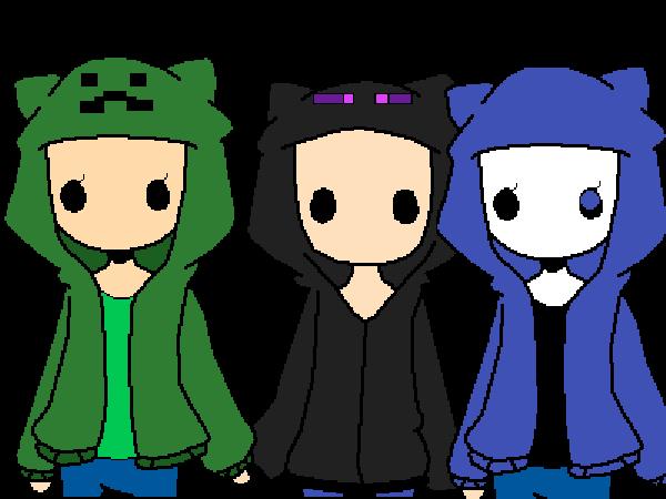 sans and his pals