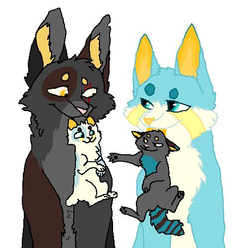 Foxsnip and Nyx