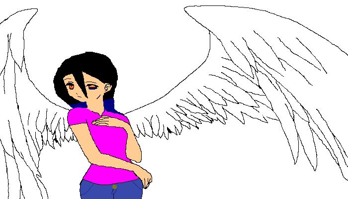 me as a angel 2