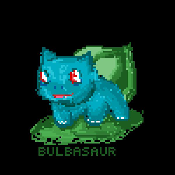 Little Bulbasaur!