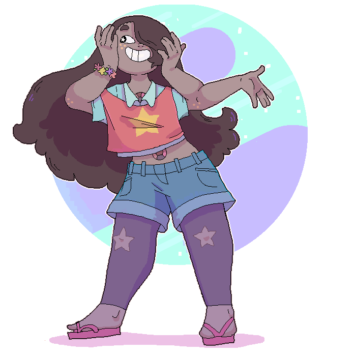 Smoky quartz + Connie (fanfusion)