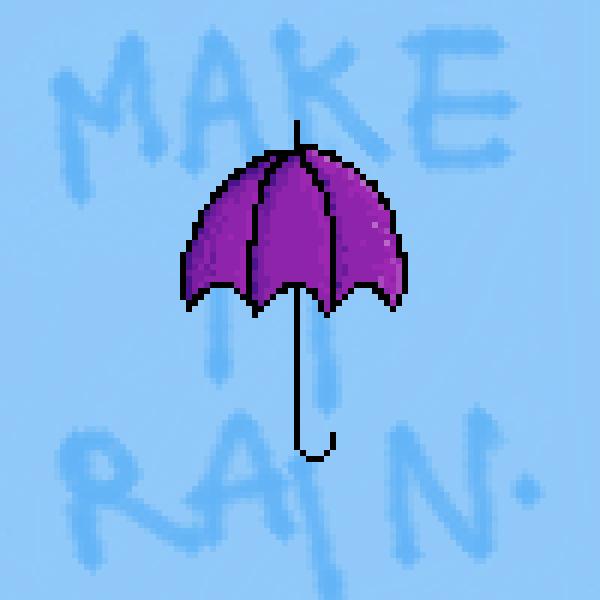 Here's an umbrella