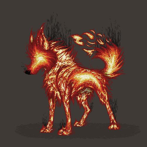 Pixilart - Spirit Wolves by JustAFellow