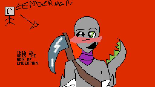 kris the sone of enderman