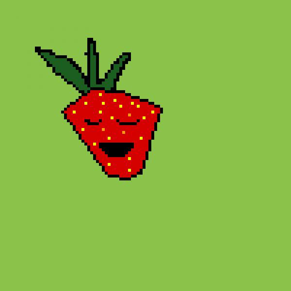 Strawberry Blinking
